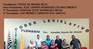 MESA DIRETORA PARA BIÊNIO 2019-2020