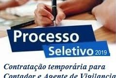 Processo Seletivo 2019 – Resumo